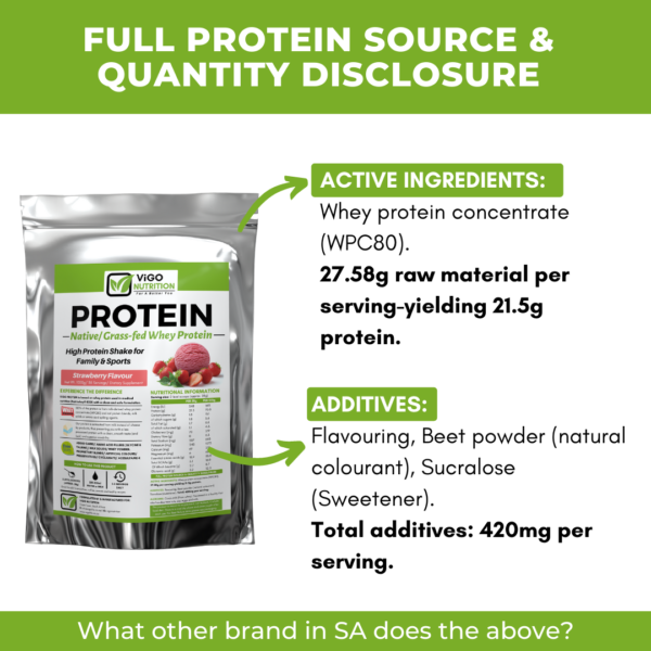 clean natural protein